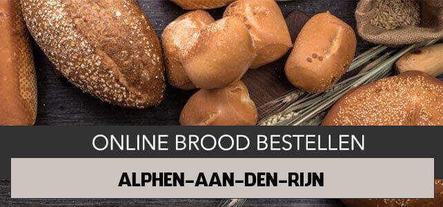 brood bezorgen Alphen aan den Rijn