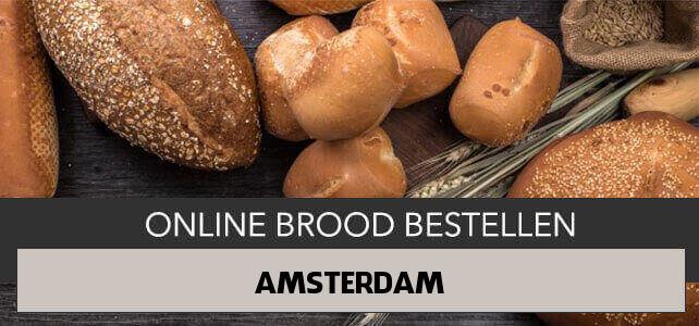 brood bezorgen Amsterdam