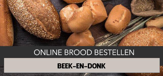 brood bezorgen Beek en Donk