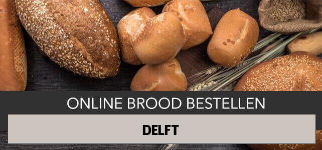brood bezorgen Delft
