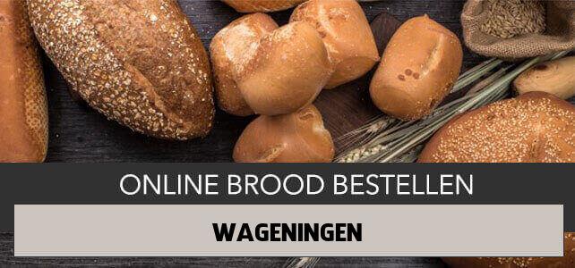 brood bezorgen Wageningen